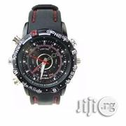 HD Silicone Waterproof Pinhole Camera Wrist Watch-8GB | Photo & Video Cameras for sale in Lagos State, Ikeja