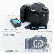 Canon EOS 7D 18 MP CMOS Digital SLR Camera Body Only   Photo & Video Cameras for sale in Lagos State, Ikeja
