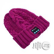 Bluetooth Beanie Knitted MP3 Player Cap - Pink | Clothing Accessories for sale in Lagos State