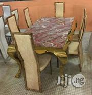 Dinning Set.(Gold Colour) | Furniture for sale in Abuja (FCT) State, Wuse