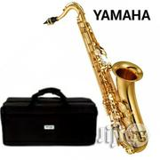YAMAHA Tenor Saxophone With Accessories - Gold | Musical Instruments & Gear for sale in Lagos State, Surulere