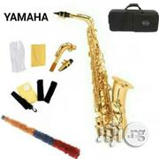 Yamaha Alto Saxophone With Accessories- Gold | Musical Instruments & Gear for sale in Lagos State, Surulere