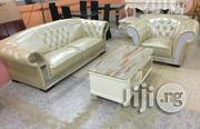 Pure Leather Sofa. | Furniture for sale in Abuja (FCT) State, Wuse