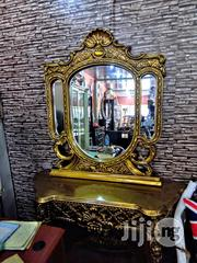Wooden Golden Console | Home Accessories for sale in Lagos State, Ojo
