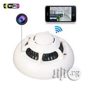 UFO Wifi Smoke Detector Spy Camera P2P With Inbuild Battery   Security & Surveillance for sale in Lagos State, Ikeja