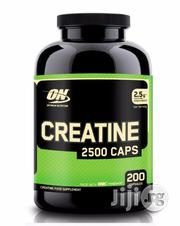 Optimum Nutrition Creatine 2500mg - 200 Capsules | Vitamins & Supplements for sale in Lagos State, Amuwo-Odofin
