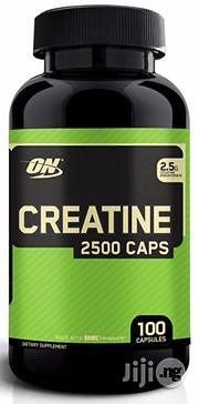 Optimum Nutrition Creatine 2500mg - 100 Capsules | Vitamins & Supplements for sale in Lagos State, Amuwo-Odofin