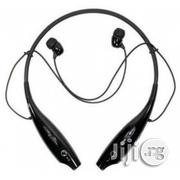 LG Tone+ HBS-730 Bluetooth Headset- Black | Accessories for Mobile Phones & Tablets for sale in Lagos State, Ikeja