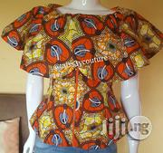 Ankara With Cape Blouse | Clothing for sale in Lagos State, Ikeja
