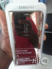 Samsung Galaxy S8+Clear View Standing Cover | Accessories for Mobile Phones & Tablets for sale in Lagos State, Ikeja