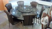Marble Top Round Dinning Set | Furniture for sale in Abuja (FCT) State, Wuse