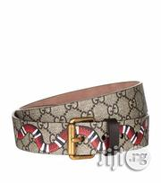 Gucci Patterned Snake Patterns Belt | Clothing Accessories for sale in Lagos State, Lagos Mainland
