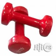 A Pair of Aerobic Fitness 2kg Plastic Dumbbells | Sports Equipment for sale in Lagos State, Surulere