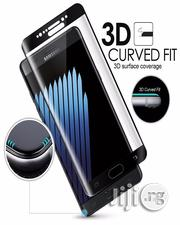 Tempered Glass Screen Protector for Samsung Galaxy S8 - Black | Accessories for Mobile Phones & Tablets for sale in Lagos State, Ikeja