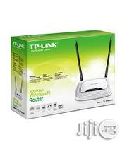 The Tp-Link TL-WR841N Wireless N Router | Networking Products for sale in Lagos State, Ikeja