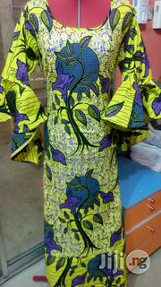 Senegalese Ankara Gown   Clothing for sale in Abuja (FCT) State, Garki 1