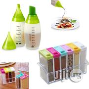 Chefs Bottle Kit + Seasoning Spice Box Six Pieces Set | Baby & Child Care for sale in Lagos State, Surulere