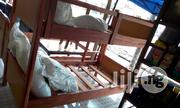 Double Steps Wooden Bed For School Hostel | Furniture for sale in Lagos State, Lekki Phase 2