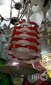 Red And White Color Pendants Light | Home Accessories for sale in Lagos State, Lekki Phase 2