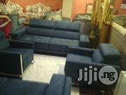 Seven Seaters Executive Sofa Chairs Black Colour   Furniture for sale in Lagos State, Lekki Phase 2