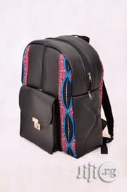 School Bag With Leather And Prints | Babies & Kids Accessories for sale in Lagos State, Lagos Mainland