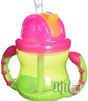 Nuby Super Spout Easy Gripper Cup, 10 Ounce | Baby & Child Care for sale in Lagos State, Alimosho
