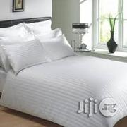 6by6 White Bed Sheet And Duvet For Hotels And Classy Individuals | Home Accessories for sale in Lagos State, Lagos Mainland