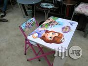 Baby Folding Table And Chair   Children's Furniture for sale in Lagos State, Lagos Mainland