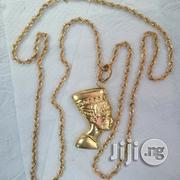 Brand New ITALY 750 Tested 18krt Twisted With Elisbeth Pendant | Jewelry for sale in Lagos State, Lagos Island