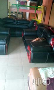 Seven Seaters Sofa Executive Chairs Black Colour   Furniture for sale in Lagos State, Ikeja