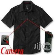Spy Video Camera T-Shirt Button(Wholesale) | Security & Surveillance for sale in Lagos State, Ikeja