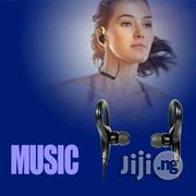Bluetooth Earpiece Wireless Handsfree With Ear-Hook Feature Headphones | Headphones for sale in Edo State