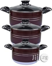 6-Pieces Aluminium Non-Stick Pots | Kitchen & Dining for sale in Lagos State, Lagos Island