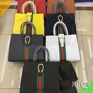 Ladies Gucci Bag With Calf Leather