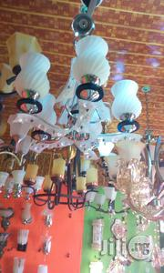 Five In One Chanderlier Lighting White Color | Home Accessories for sale in Lagos State, Ikeja