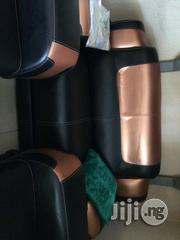 Seven Seaters Executive Sofa Chairs Black and Gold Color   Furniture for sale in Lagos State, Lekki Phase 2