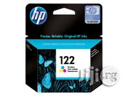 HP 122 Colour Original Ink Cartridge | Accessories & Supplies for Electronics for sale in Lagos State, Ikeja