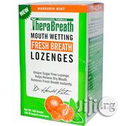 Therabreath Dentist Recommended Dry Mouth Lozenges (100 Count) | Vitamins & Supplements for sale in Lagos State, Lagos Mainland