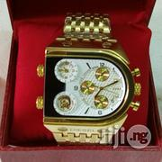 Gold Dieasel Wrist Watch | Watches for sale in Lagos State, Surulere
