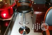Wood and Leather Bar Stool | Furniture for sale in Lagos State, Ojo