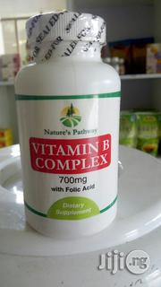 Nature's Pathway Vitamin B Complex With Folic Acid 700mg(100 Tablets) | Vitamins & Supplements for sale in Lagos State, Ikeja