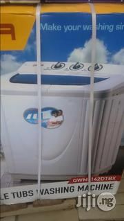 Qasa Washing Machine 8.2kg Double Tub. | Home Appliances for sale in Lagos State, Ojo