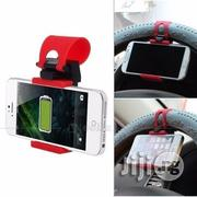 Car Steering Wheel Phone Socket Holder | Vehicle Parts & Accessories for sale in Lagos State, Ikeja