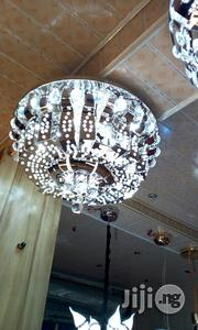 Silver Crystal Celling Flush Light | Home Accessories for sale in Lagos State, Lekki Phase 2