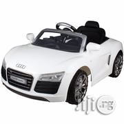 Audi R8 Spyder Licensed 12V Electric Kids Ride On Car - White | Toys for sale in Lagos State
