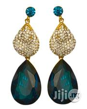 Big Blue Stud Earrings | Jewelry for sale in Lagos State, Lagos Mainland
