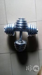 20kg Adjustable Chrome Iron Dumbells | Sports Equipment for sale in Lagos State, Ikeja