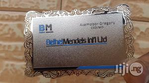 Metal Business Card Company In Nigeria