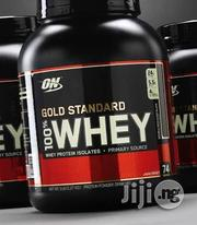 Optimum Nutrition 100% Whey Protein ( 5LBS ) | Vitamins & Supplements for sale in Lagos State, Lekki Phase 2