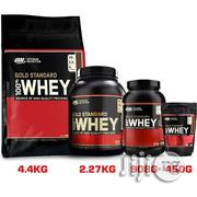 Optimum Nutrition (ON) Whey Protein 1lb, 2lbs, 5lbs | Vitamins & Supplements for sale in Lagos State, Lekki Phase 2